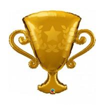 Globo metalizado forma trofeo de 39 pulgadas - 99,06 cm