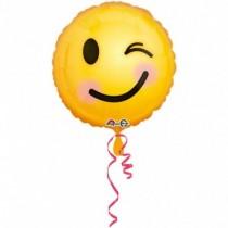 """Globo foil 18""""/45cm emoji SMILE GUIÑO"""