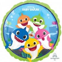 Globo foil 18/45Cm Baby Shark
