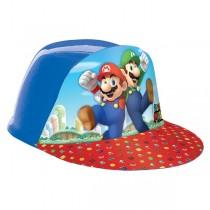 Gorra de baseball de plástico de Super Mario