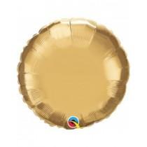 Globo foil Cromado redondo (45,7cm) color oro
