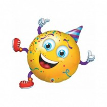 Globo de foil 38 pulg. (96,5cm) Forma 01 Und. Carita Feliz Party Guy