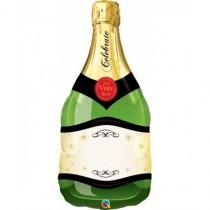 Globo 39 pulg. (99,0cm) Botella de champán