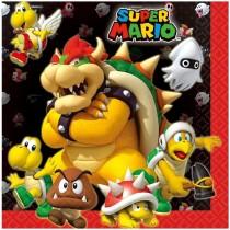 Servilletas de Papel Super Mario - 33cm