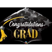Globo foil 41 pulg. (104,1cm) Felicitaciones graduacion
