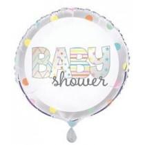 Globo foil redondo Baby Shower