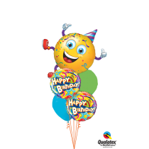 Ramo de globos ¡Vamos de fiesta!
