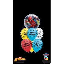 Ramo de globos Spider-Man II