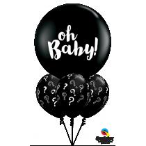 Ramo de globos Oh Baby!