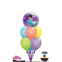 Ramo de globos Princesa Jasmine