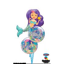 Ramo de globos Sirenita
