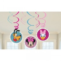 Decoracion Colgante Minnie Mouse Swirl Decorations