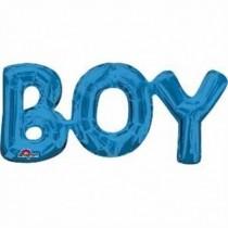 Globo frase Boy azul