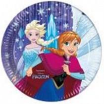 Platos Frozen Snowflakes de 23cm