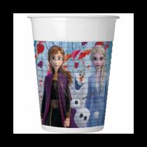Vasos Frozen 2 personajes plastico de 200ml