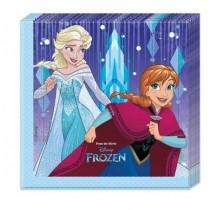 Servilletas Frozen Showflakes