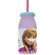 Botella Frozen C/Pajita