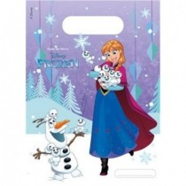 Bolsas chuches/juguetes Frozen Showflakes
