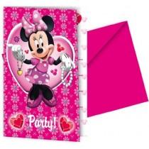 Invitaciones Minnie