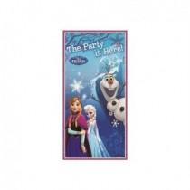 Decoracion puerta Frozen el Reino del Hielo