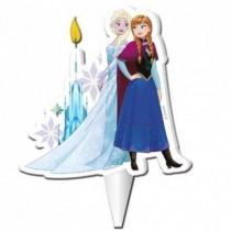 Vela Frozen Elsa y Anna