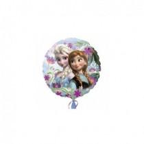 Globo Foil Frozen Elsa y Anna 45cm.