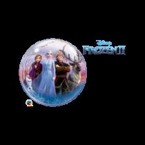 Globo Frozen II Bubble de 56cm de diametro