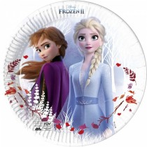Platos Frozen 2 Biodegradables