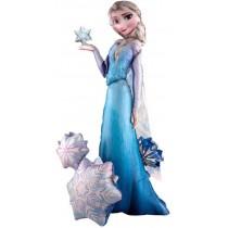 Globo Foil Frozen Elsa de 88x144 cm aprox