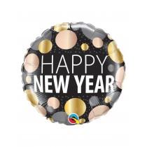 Globo De Foil 18 pulg. (45,7cm) Feliz Año Nuevo