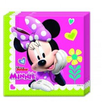Servilletas 2-ply 33x33cm Minnie Rosa