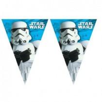 1 Guirnalda Banderin Star Wars de 2, 3 mtos de Largo