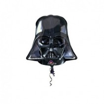 Globo de foilcon la forma del casco deDark Vader.(Empaquetado)