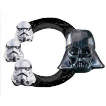 Globo foil forma marco selfie Star Wars