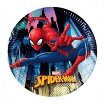 Platos Spiderman Marvel de 20cm (8)