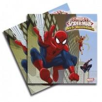 Servilletas Spiderman 33x33 cm (20)