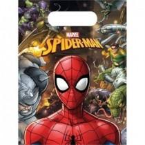 Bolsas Chuches/Juguetes Spiderman Team (6)