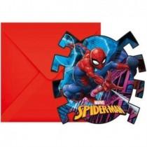 Invitaciones Spiderman Marvel (6)