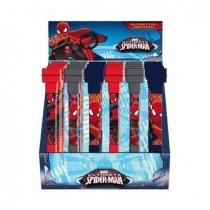 Boligrafo 3 en 1 Spiderman (Boligrafo, pompero y sello)