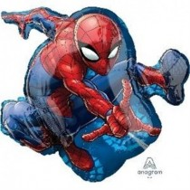 Globo forma Spiderman de 73cm