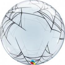 Globo Tela de Araña Burbuja Bubble de 61cm