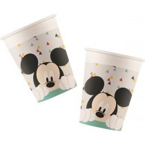 Vasos Papel 200Ml Mickey Increible