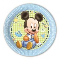 Platos 23Cm Baby Mickey