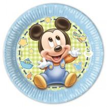 Platos 20Cm Mickey Baby