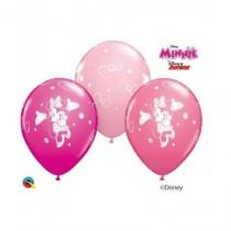 Globo de latex 11 pulg. (27,9cm) Special Minnie 10 ud
