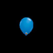 Globo de latex 05 pulg pequeño. (12,7cm) Azul oscuro 10 ud