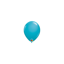 Globo de latex 11 pulg. (27,9cm) Tropical Teal 10 ud