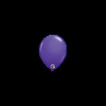 Globo de latex 05 pequeño pulg. (12,7cm) Purpura 10 ud