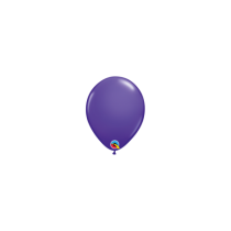 Globo de latex 11 pulg. (27,9cm) Purpura 10 ud