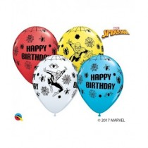 Globo de latex  11 pulg. (27,9cm) Special Marvel'S Spider-ManBday